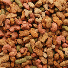 More details for complete dry adult cat food mix with fish, chicken & vegetable nutritious value