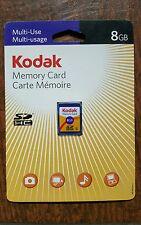 Kodak 8 GB SDHC Card - OEM - (KSD8GBPSBNA)