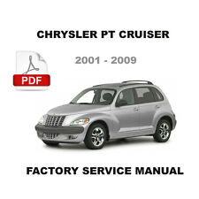 CHRYSLER PT CRUISER 2001- 2009 SERVICE REPAIR WORKSHOP MANUAL + WIRING DIAGRAM
