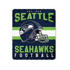 "New Style Football Seattle Seahawks Fleece blanket Soft Throw Blanket 50"" x 60"""