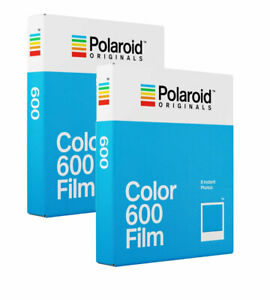 Polaroid Originals 600 Color Film TWIN Pack for Polaroid 600 Cameras (16 Shots)