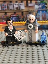 LEGO new minifigs, Jor-El and General Zod combo,includes all accessories #mf1234