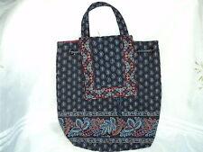 Vera Bradley Mimi Backpack Classic Navy Retired/Pattern Cotton  BIN $47