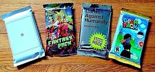 Lot - New Cards Against Humanity Silver, Fantasy, Geek, WWW - Expansion Pack web