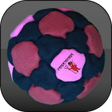 BLOOD LUST FOOTBAG, 32 panels, Sand & Iron filled hacky sack, aki, freestyle