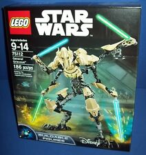 LEGO 75112 GENERAL GRIEVOUS ~ STAR WARS NISB new retired buildable figures