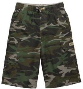 UNIONBAY Boy's Lightweight Pull-On Cargo Shorts