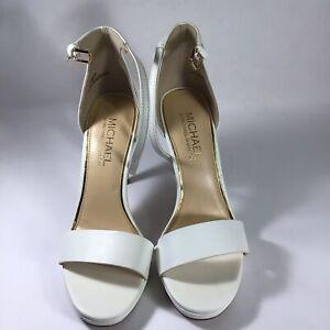michael shannon shoes white size.  7 dress  shoes