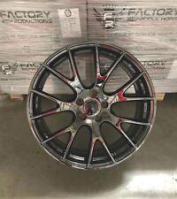 "4) 22"" x 10""  Black Chrome Hellcat Style 14-18 Jeep Grand Cherokee Wheel Rim"