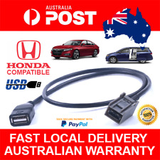 AUX USB Cable Adapter for Honda Civic Jazz CR-V Accord CR-Z Odyssey USB MP3