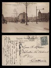 cartolina-post card CHILE valparaiso avenidas pedro montt y victoria