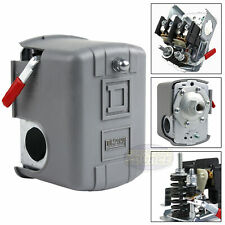 Square D 95-125 PSI Air Compressor Pressure Switch Control Valve 9013FHG12J52M1