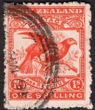 NEW ZEALAND 1902/7 STAMP Sc. # 118 USED BIRD