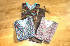 Scrub Lot of 4 Pieces, Dickies, Dr. Seuss Size Xl Tops And Large pant