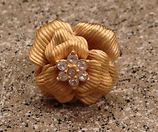 """BRAND NEW - Premier Designs Gorgeous """"IN BLOOM"""" Ring - Size 8 - NIB - Retail $38"""