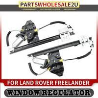 For Peterbilt 378 379 87-05 Front Left /& Right Window Regulators w// Motor Dorman