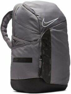 NEW Nike Elite Pro Basketball Backpack Gray/Black BA6164-056 Fast Shipping