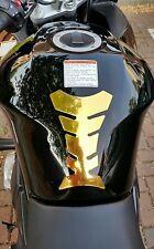 Gold Motorbike Motorcycle Tank Pad Protector Suzuki Yamaha Honda Kawasaki Etc