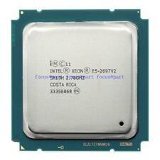 E5-2697 2697 2.7GHz 100% 30M QPI CPU LGA C2 8GT/s work 2011 normal SR19H e5 v2