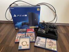 Sony PlayStation 4 Pro 1tb in OVP mit 2 Controllern und 7 Spielen TOP