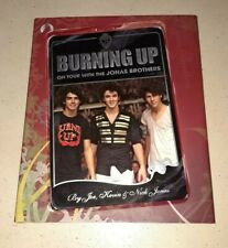 Burning Up - On Tour With The Jonas Brothers 2008 Hardcover Book