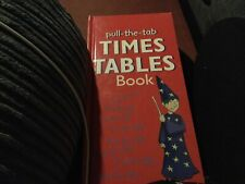 Pull The Tab Times table Book, Used