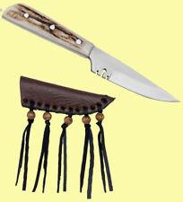 Taschenmesser Messer mit Hirschhorngriff Jagdmesser Trachtenmesser Tracht 81524