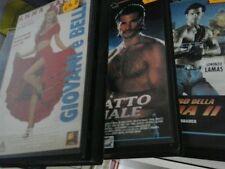 5 VHS Predator 2 (1991) - GIOVANI E BELLI - IL GUERRIERO DELLA STRADA 2 - GIOVAN
