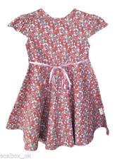Robes rose pour fille de 2 à 16 ans en 100% coton, taille 2 - 3 ans