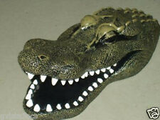 Floating Alligator Gator Decoy Protects Pond Koi Fish-Herons-pool-goose control