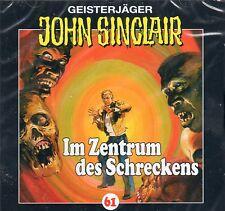 JOHN SINCLAIR - Teil 61 - Im Zentrum des Schreckens - AUDIO CD - NEU OVP