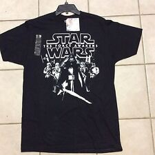 Star Wars The Force Awakens Kyle Ren Stormtroopers Black T Shirt Size L  NWT