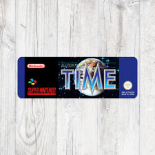 Étiquette SNES / Sticker : Illusion of Time