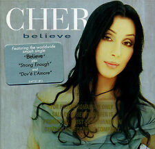 Cher BELIEVE (Retail Promo CD, Album) (1998)