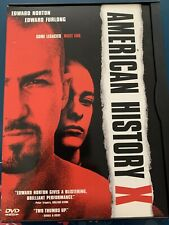 American History X (Dvd, 1999) Edward Norton Edward Furlong