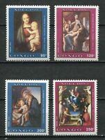 38054) Congo Rep.1992 MNH Christmas 4v