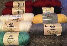 Caron Simply Soft Solids Yarn ~ 6 oz each ~ *You Choose Color*