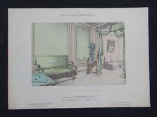 LA TENTURE FRANÇAISE 1904 - Salle de billard Louis XIII - Davène décoration 27