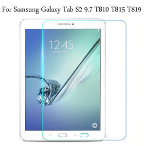 HD+ Tempered Glass Screen Protector For Samsung Galaxy Tab S2 T810 T815 9.7