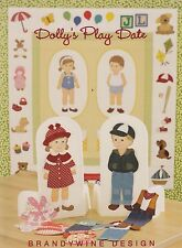 Dolly's Play Date - fun applique quilt BOOK for little girls - Brandywine