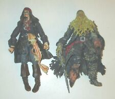 Disney Store Jack Sparrow & Davy Jones Pirates of the Caribbean Dead Man's Chest