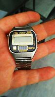 Otron Alarm Chrono chime solar watch ultra rare made in Korea as is woow