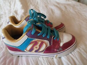 Genuine Heelys Roller Ball Trainers Girls UK Size 7