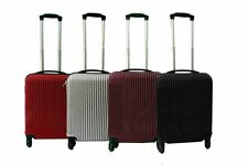 Unbranded Hard Luggage with Tie-Down Straps