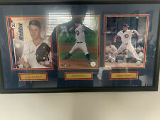 FRAMED AUTOGRAPH GREG MADDUX/MARK PRIOR/KERRY WOOD WITH AUTHENTICITY!!