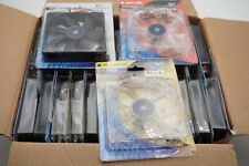 Lot of (28) Kingwin 120mm Case Fans NEW Some LED Red/Yellow