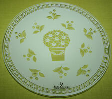 Gallo 1 Glasteller Ice White 19,5 cm Orangendekor / Switch 4 Villeroy & Boch NEU