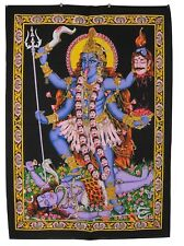 Kali Hindu Goddess Sequined Wall Hanging * Fair Trade * 80 x 110 cm