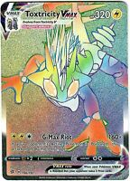 Pokemon - Rebel and Clash - TOXTRICITY VMAX - 196/192 - Secret Rare -  NM/M