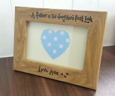 Wooden Father's Day Rectangle Photo & Picture Frames